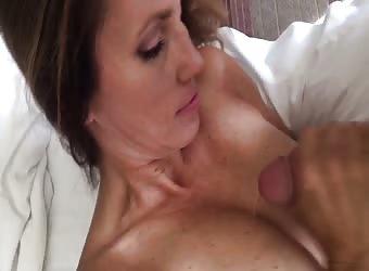 Hot wife hand job