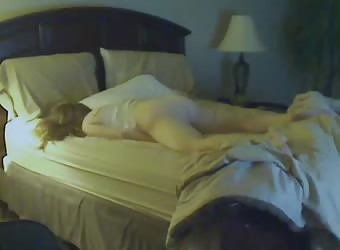 Wife, 31, humping to orgasm