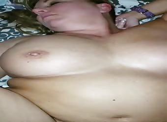 Milf takes My BBC in her tight pussy for cuck to watch later