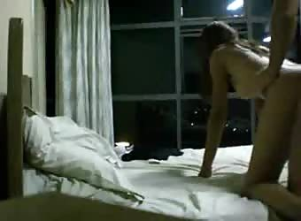 Petite teen girlfriend homemade video sex