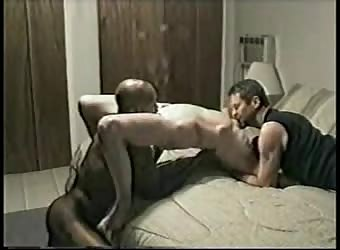 Wife cherry fucks a black man while husband watches