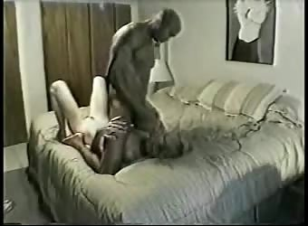 Wife Cherry fucks a black man while husbands at work