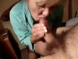 Mature wife takes his cum in her ass