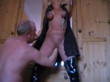 Bondage mature wife enoys fisting