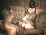 Mature wife fucks black BF while hubby films