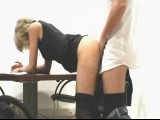 Hot amateur sex at the office