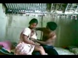 Young indian couple fucking in a shack
