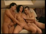 German amateur swinger gangbang
