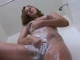 Amateur rubs one out on the shower