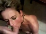 Rough fucking whore in 3 holes