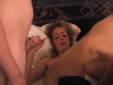 2 guys fuck his naughty wife