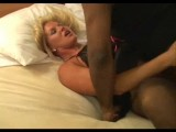 Beautiful swinger wife gangbanged by 2 blacks