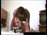 IR redhead gets her pussy broken by black boyfriend