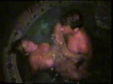 Sharing the wife in the hot tub