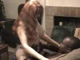 Mature redhead meets black mamba