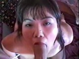 Ass fucked asian swallows