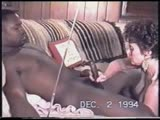 vintage - douchebag hubby watches wife down a bbc