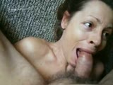 Hot suck up close and personal pov blowjob