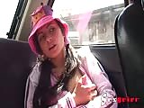 Solita fingering in the car