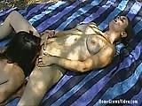 Outdoors lesbians