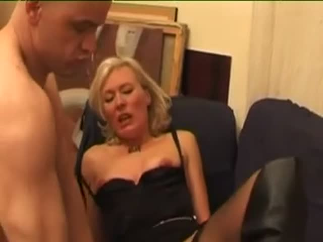 French blonde porno