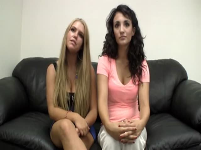 Backroom Casting Couch Two Girls
