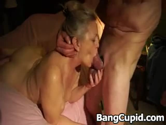 Mature Wife Sucking Huge Cock