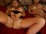 Threesome with lana and staci