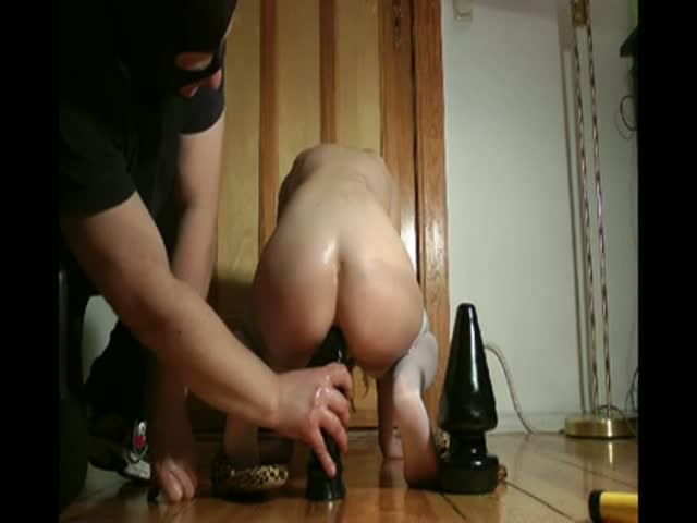 Monster anal dildo video have