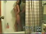 Brunette Shower Doggystyle Pumping Action