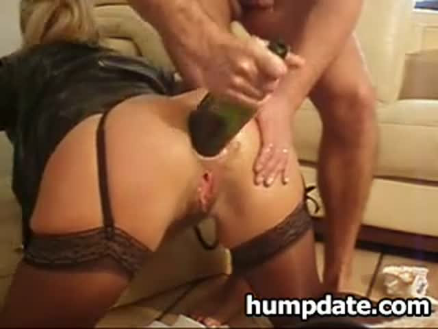 Gapping ass hole