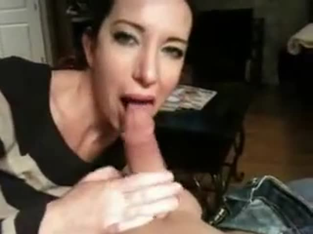 Friends Wife Gives Me Blowjob