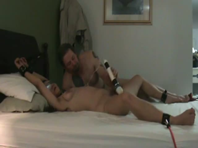 Mom tied forced sex toy
