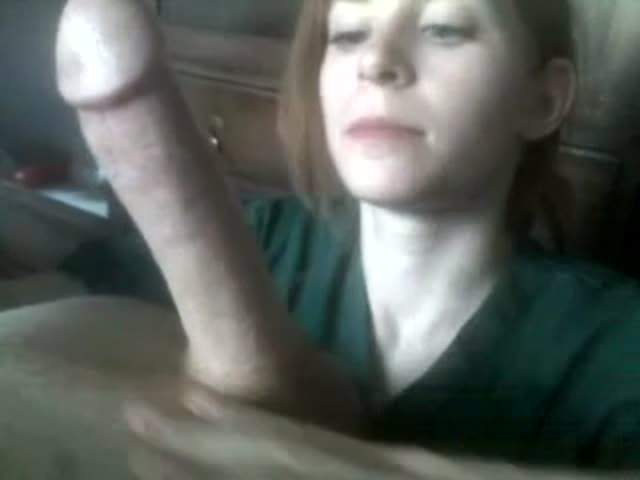 Girl Sucks Cum Out Cock