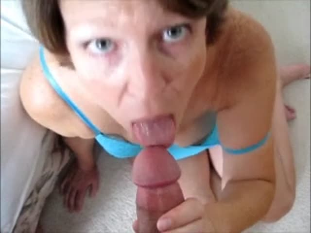 Giving me a blowjob