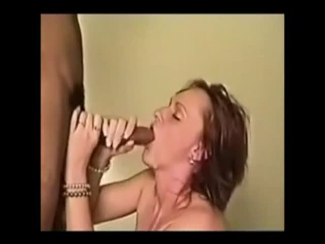 Wife chokes on cum