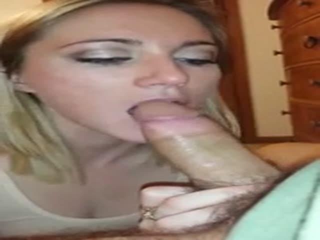 Homemade Wife Blowjob Facial