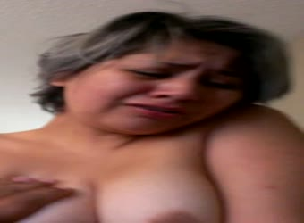 Milf with nice tits getting off on his hard dick