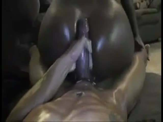Girl Big Ass Riding Dildo