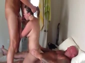 Wife enjoying her best fuck ever with friends