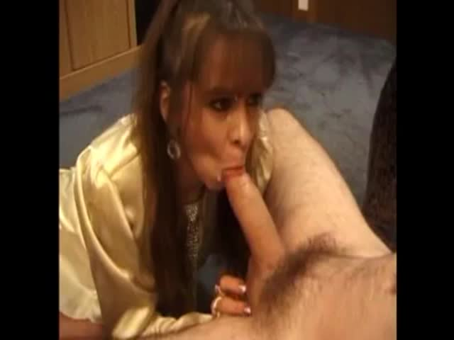 Wife blowjob facial