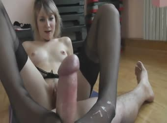 Can't pantyhose footjob pics this!! What great