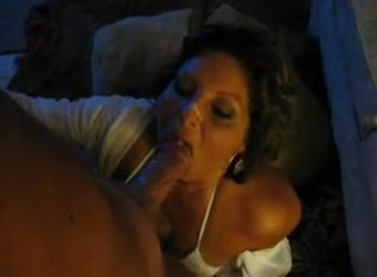 Mature sub-slut cant stop sucking his cock