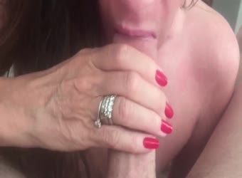 Wife cum in mouth
