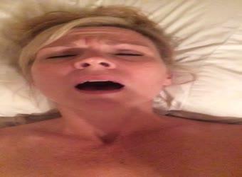 Milf enjoying vibrator orgasm