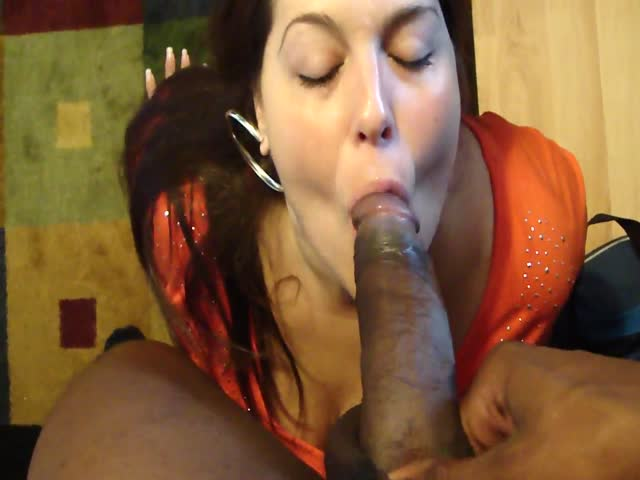 Mature black bbw  fuck and cum sucking