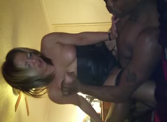 Hot cheating milf with BBC