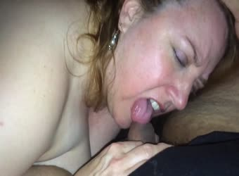 Older middle aged woman likes younger cum
