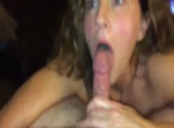 Milf says swallow or facial whatever you want
