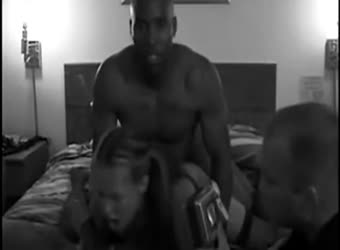 Slut wife filmed by husband fucking 2 brothas